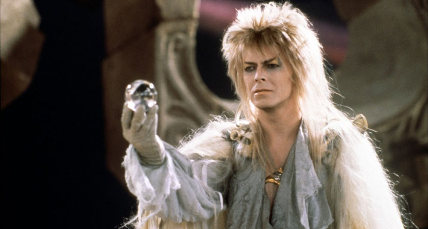 The late David Bowie in Labyrinth