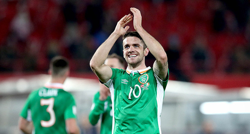 Robbie Brady impressed for Ireland at Euro 2016. Picture: ©INPHO/Ryan Byrne