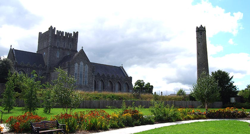 View of St. Brigid's Cathedral and Round Tower, Kildare (Picture: Tourism Ireland)