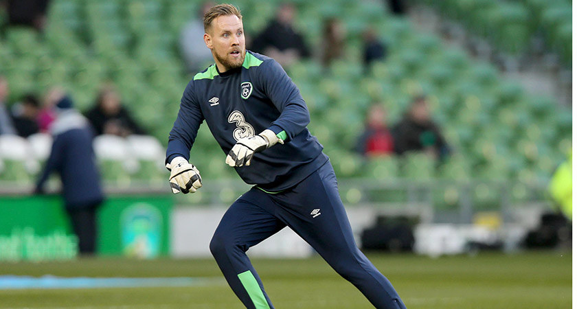 Rob Elliot was out for six months after a cruciate ligament injury. Picture: ©INPHO/Donall Farmer