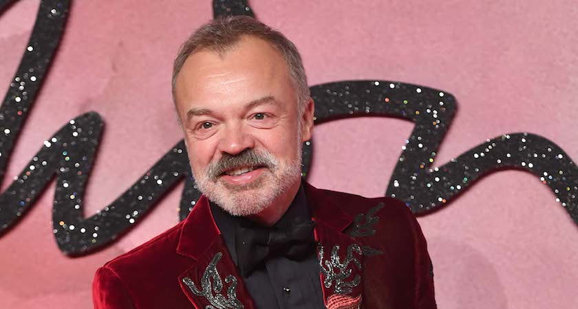 LONDON, ENGLAND - DECEMBER 05: Presenter Graham Norton attends The Fashion Awards 2016 on December 5, 2016 in London, United Kingdom. (Photo by Stuart C. Wilson/Getty Images)