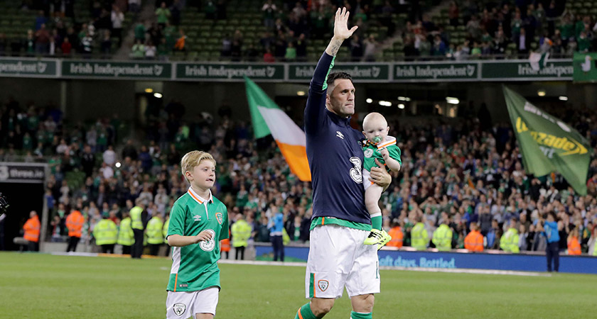 Robbie Keane retired from international football last year. Picture: ©INPHO/Morgan Treacy