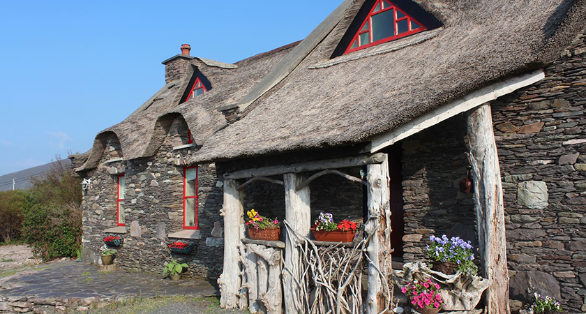 This thatched cottage is located on the Dingle Peninsula on the Ring of Kerry. (Picture: Airbnb)