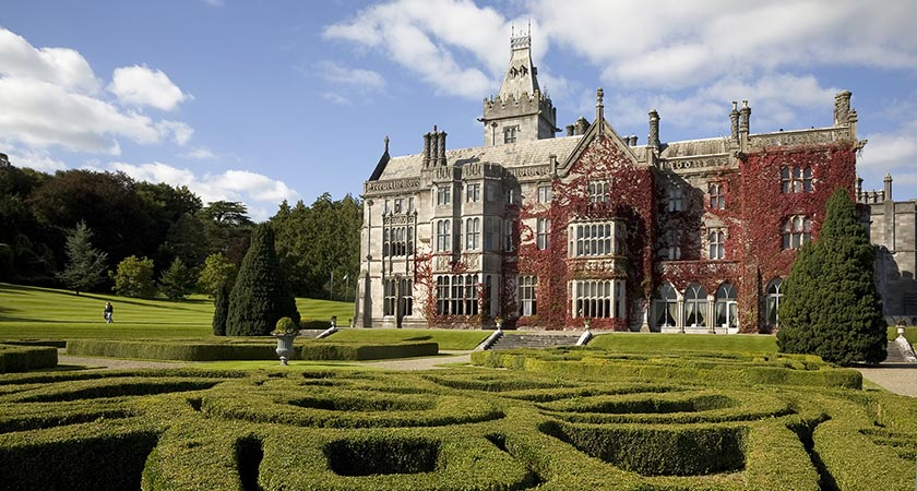 Adare Manor, the site of many celebrity weddings (Picture: Tourism Ireland)