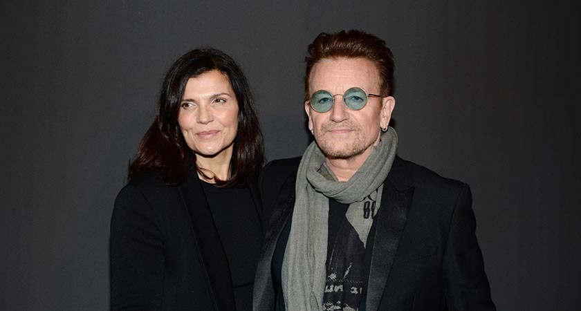 Bono and Ali Hewson (Picture: Francois Durand/Getty Images)