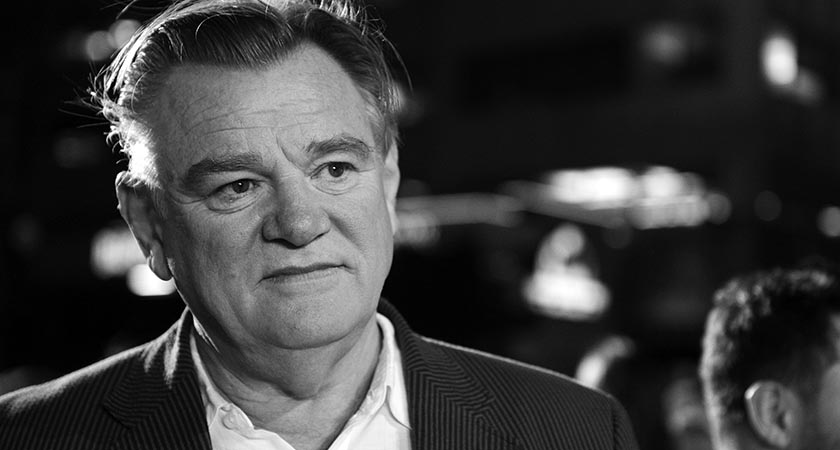 From Craggy Island to craggy features — screen priests cpme in all shapes, including Brendan Gleeson (Picture: Charley Gallay/Getty Images for Disney)