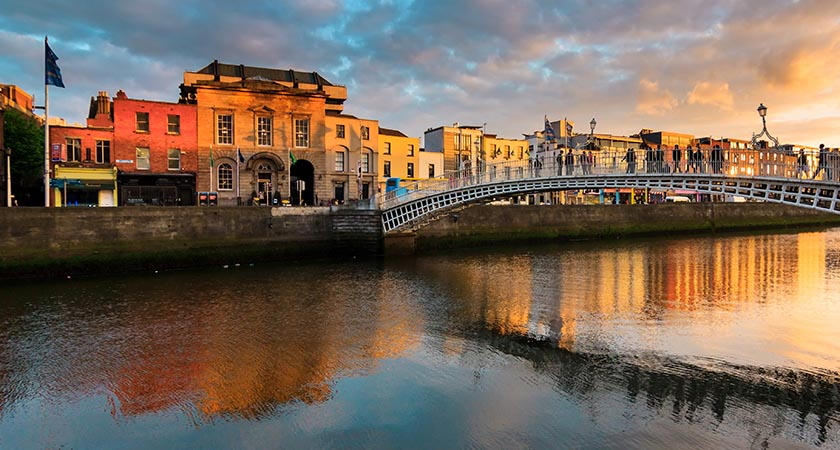 The capital city of love — Dublin (Picture: iStock)