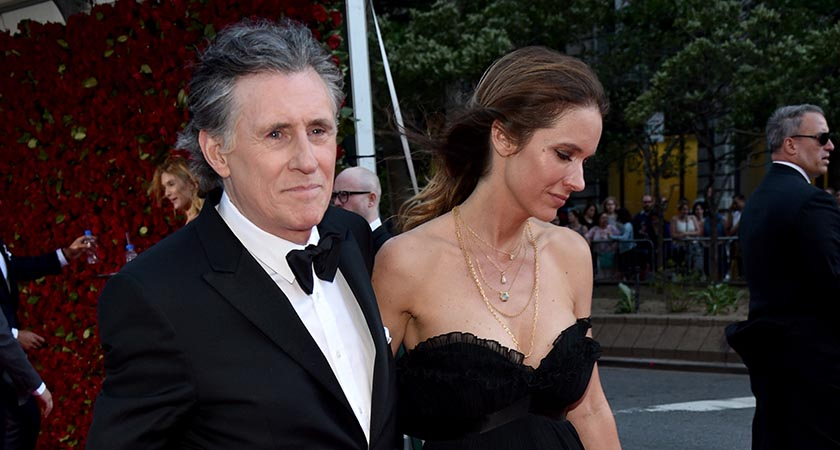 Gabriel Byrne and Hannah Beth King (Photo by Bryan Bedder/Getty Images for FIJI Water)