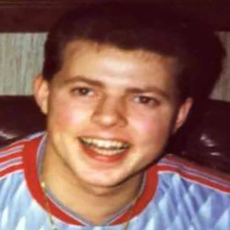Robert 'Jimmy' Hayes as a teenager.