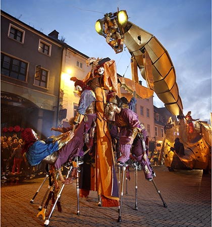 Kilkenny's mediaeval sreets play host to one of Europe's hottest festivals (Picture: Tourism Ireland)