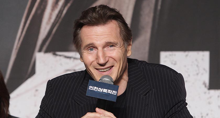 Ballymena man Liam Neeson does a mean American accent (Picture: Chung Sung-Jun/Getty Images)