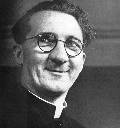 Monsignor Hugh O'Flahery, portrayed onscreen by Gregory Peck (Picture: public domain)