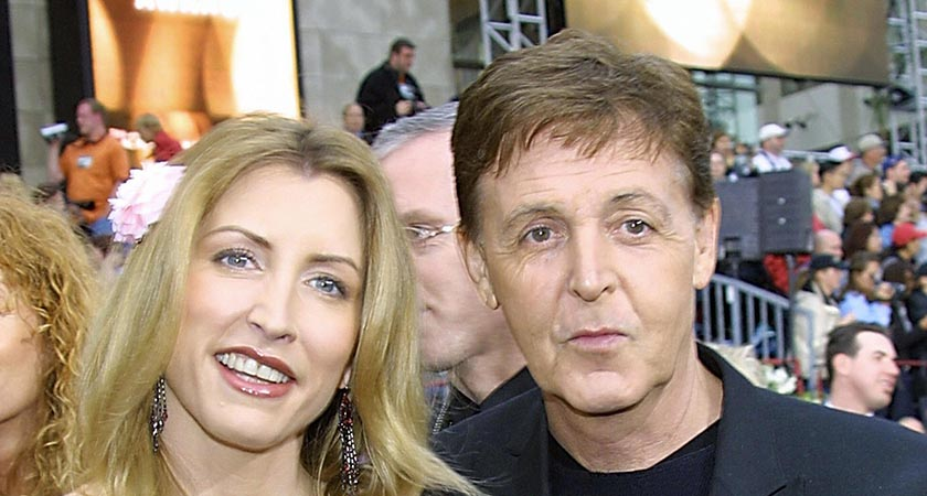 Heather Mills and Paul McCartney (Picture: LEE CELANO/AFP/Getty Images)