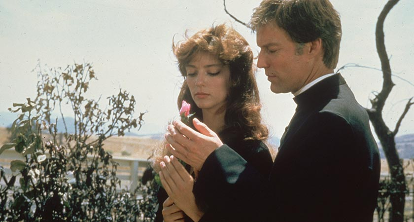 Rachel Ward and Richard Chamberlain The Thorn Birds (Picture: Hulton Archive/Getty Images)