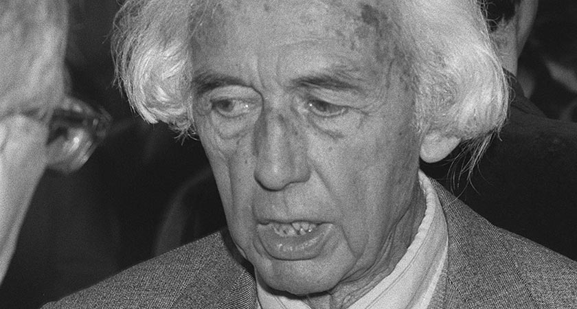 Robert Bresson, one of the greats of french film (Picture: Gabriel Duval/L/AFP/Getty Images)