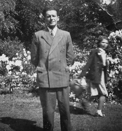 Nuala Lee's father Thomas Fallon.