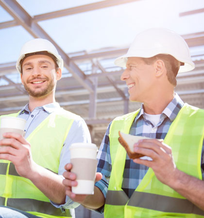 No matter the pace of progress, builders will find time for a tea break (Image: iStock)