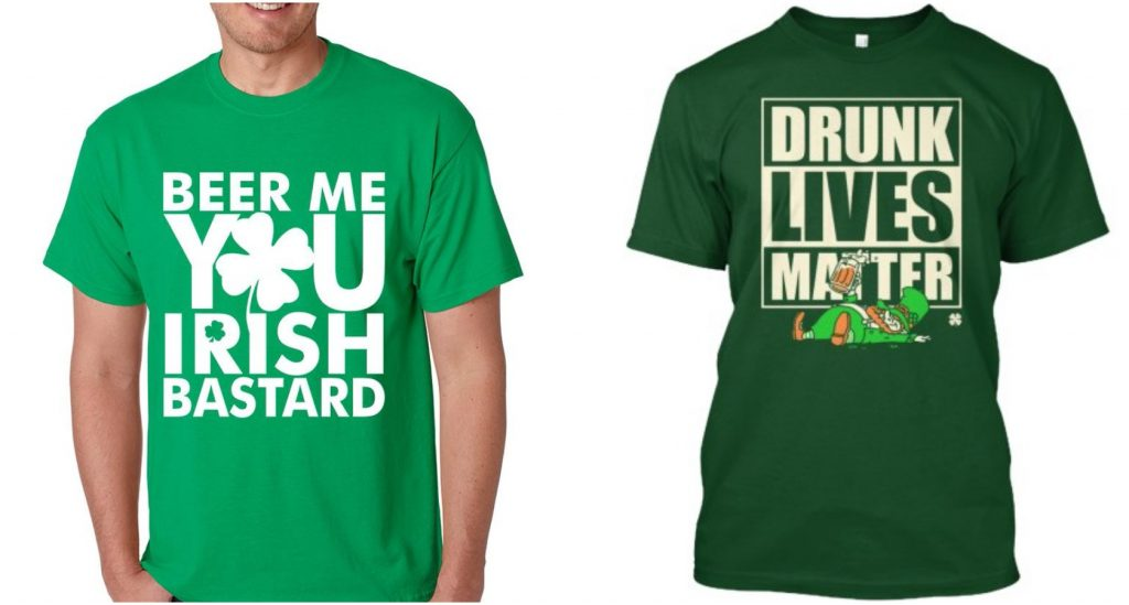 Irish american man calls for boycott of shops selling for Sell shirts on your website
