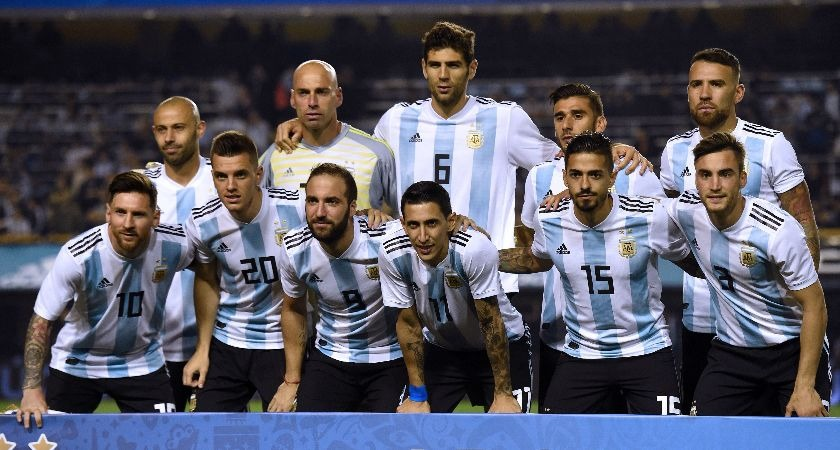 The Argentina national team.