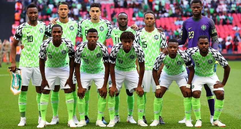The Nigeria national team.