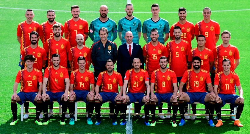 The Spain national team.