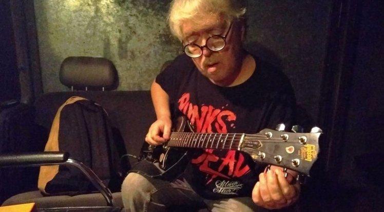 Russian musician Andrey Suchilin