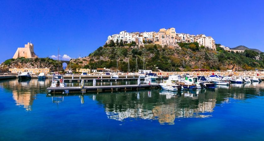 Sperlonga, the coast Italian resort close to where the incident occurred.