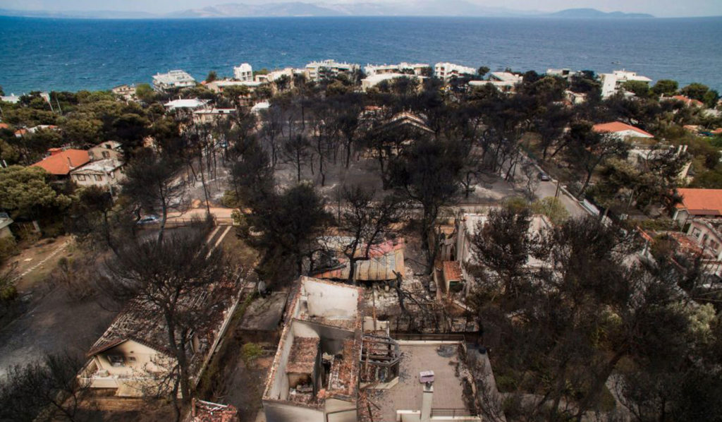 Wildfires in Greece Kill More Than 70