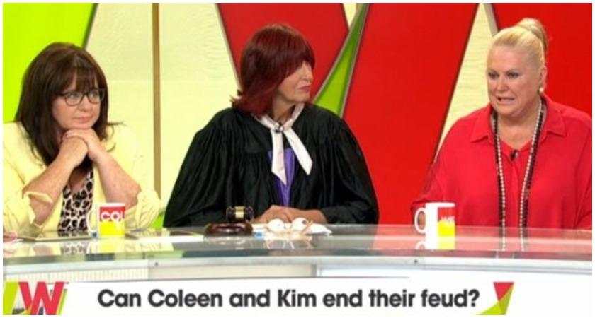 ITV Loose Women: Kim Woodburn calls Coleen Nolan TRASH