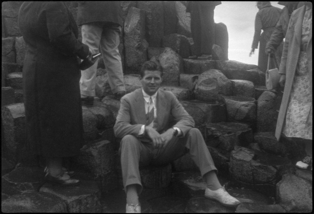 Joe Kennedy at Giant's Causeway in County Antrim, Northern Ireland