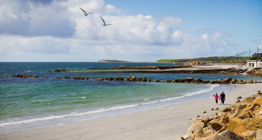 A lovely Irish beach.