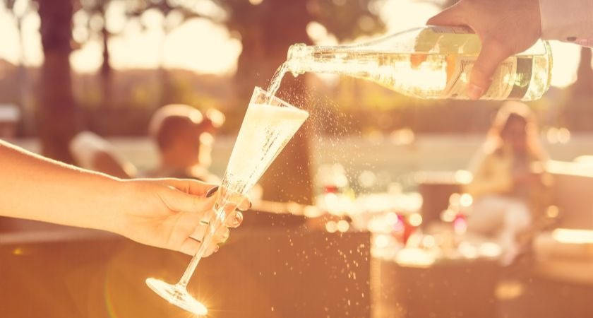 Bottomless Brunches offer access to unlimited amounts of Prosecco.
