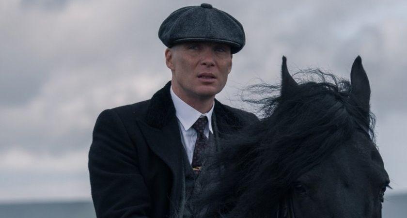 Cillian Murphy di Peaky Blinders.