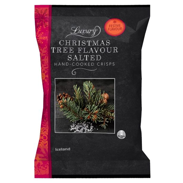 These controversial Christmas tree flavour crisps are dividing the internet.
