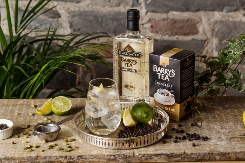 Blackwater Barry's Tea Irish Gin is arriving just in time for Christmas.