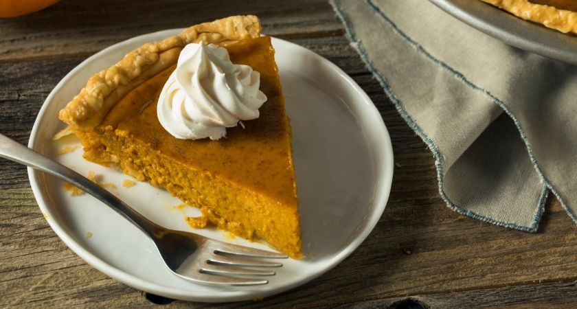 This Irish whiskey & pumpkin pie is no ordinary Halloween dessert recipe.