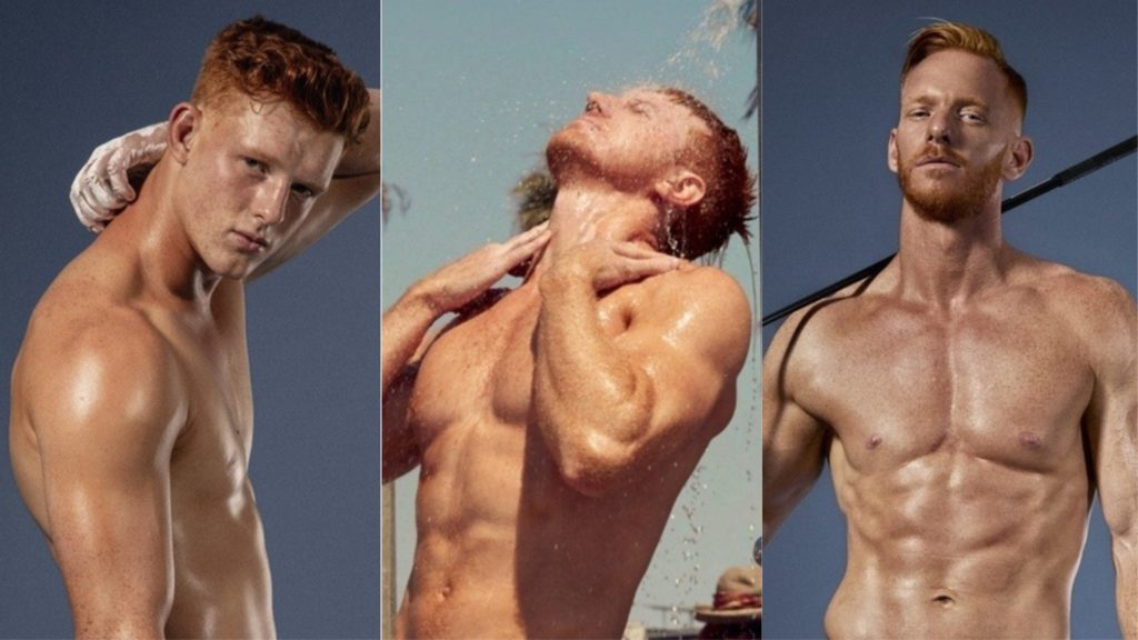 Ginger men bare all for Red Hot nude all redhead male 2019 calendars.