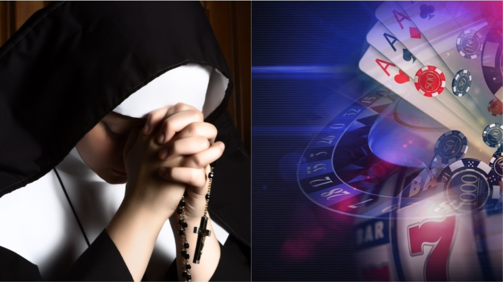 Two Catholic nuns accused of embezzling $500,000 from school to spend at the casino.