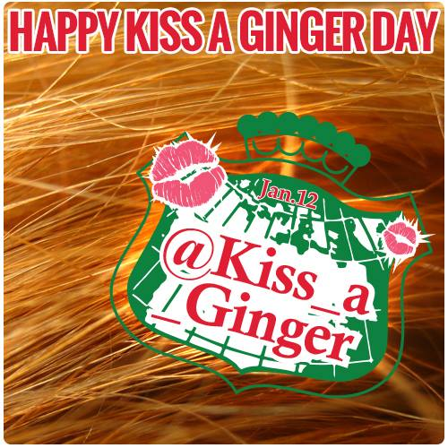 'Kiss A Ginger Day' is celebrating its 10th anniversary in Dublin this week.
