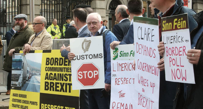 Varadkar admits soldiers may return to the Irish border after Brexit