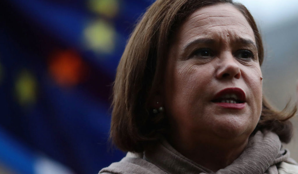 Mary Lou McDonald Tests Positive For Coronavirus