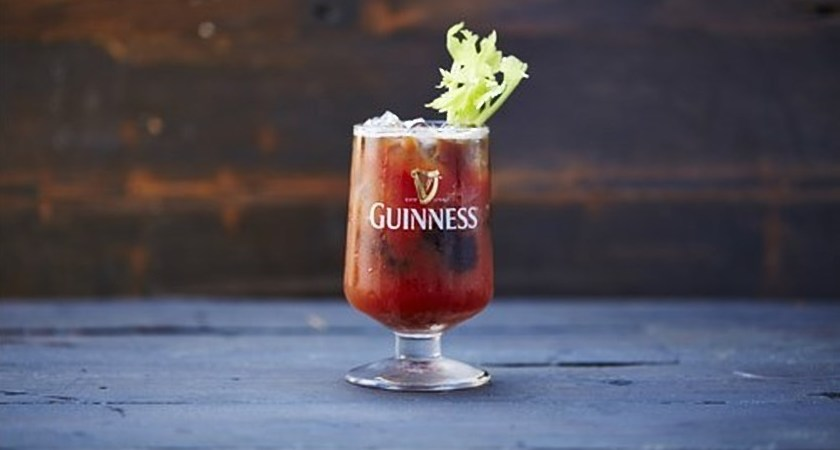 Guinness Bloody Mary recipe.