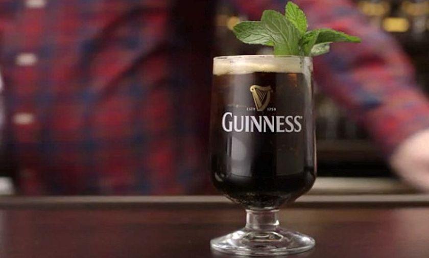 Guinness Newly Minted recipe.
