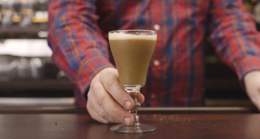 Guinness St James's Flip recipe.