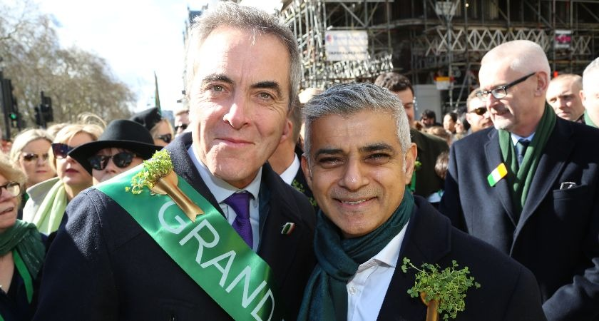 'We welcome you' – London Mayor Sadiq Khan sends Ireland clear message as Brexit looms.