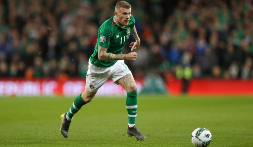 James McClean slams Declan Rice over England switch.