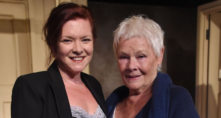 Judi Dench with her daughter Finty Williams.