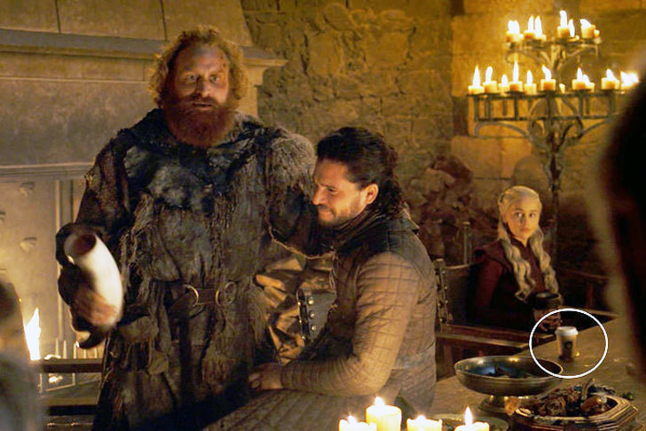HBO responds to sightings of Starbucks' coffee cup on Game of Thrones.