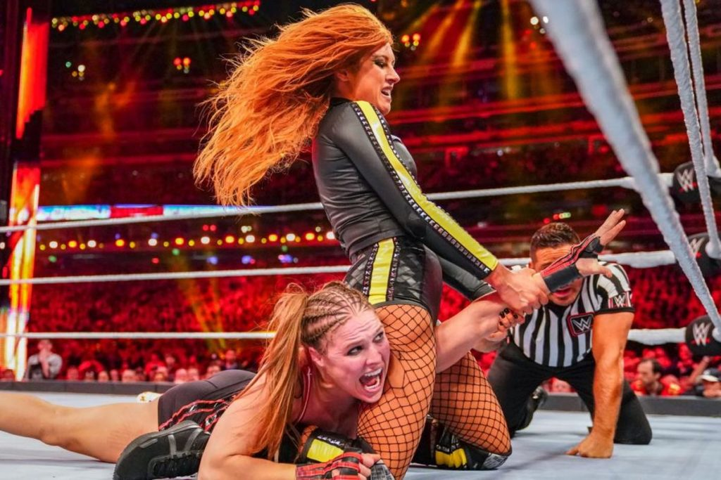 Irish WWE star Becky Lynch's relationship with fellow