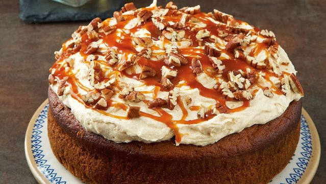 This Irish Salted Caramel And Whiskey Cake Recipe Is A